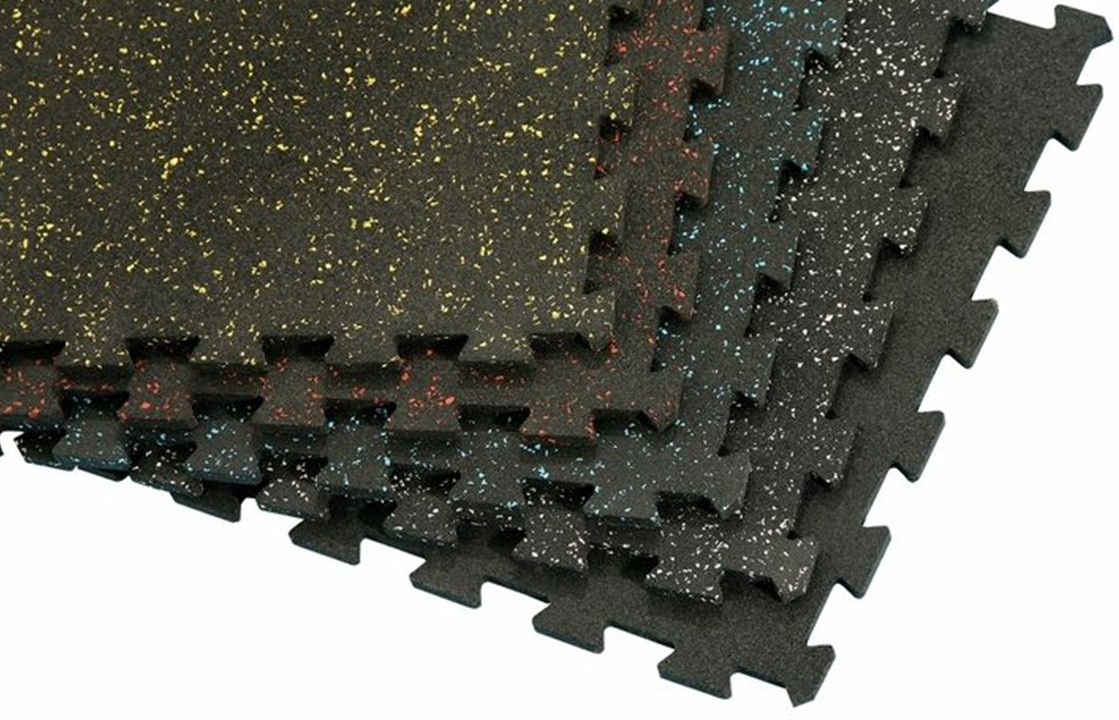 Recycled Rubber Tile Lok Fitness Finishes
